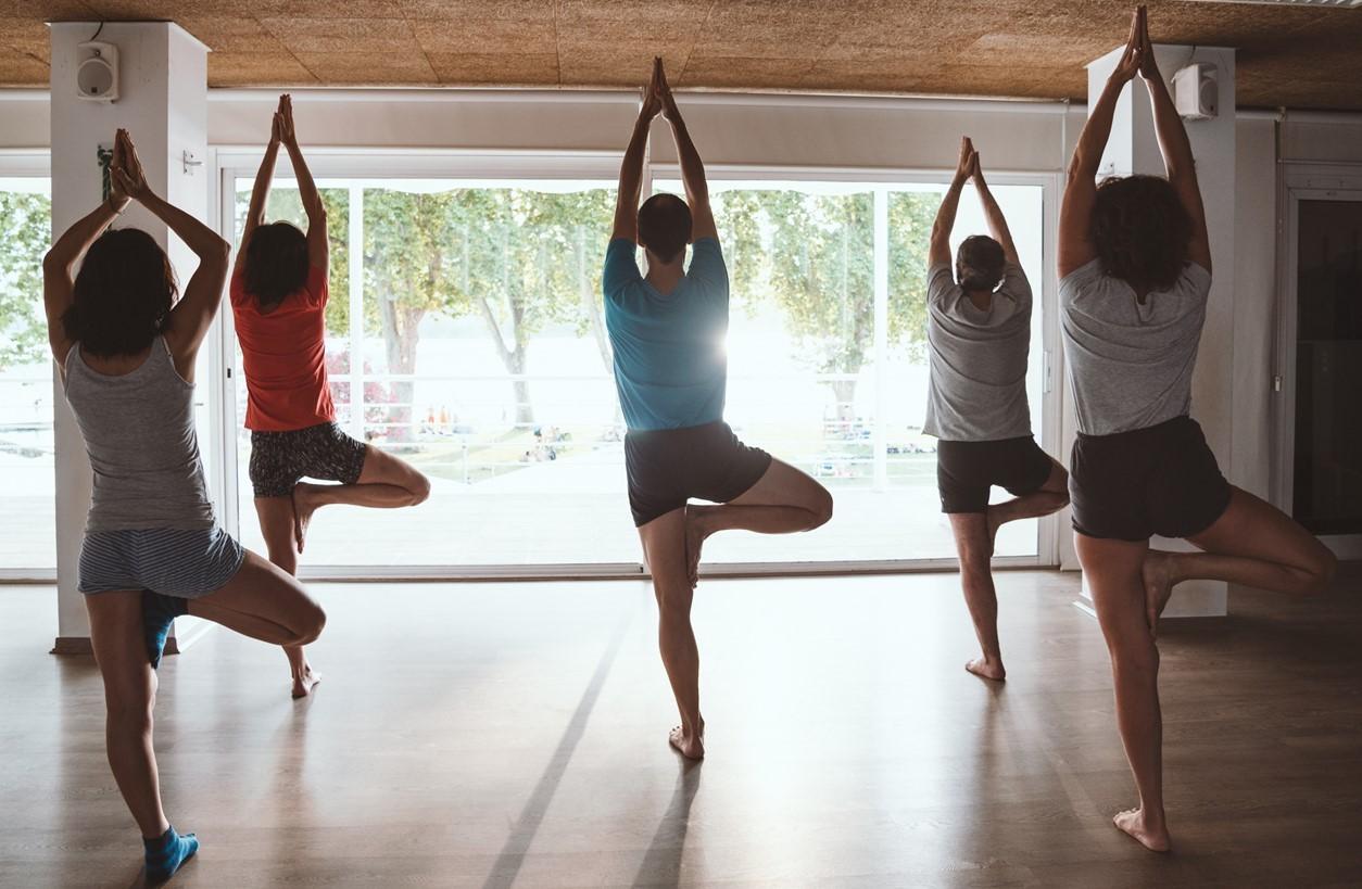Yoga al Club Natació Banyoles