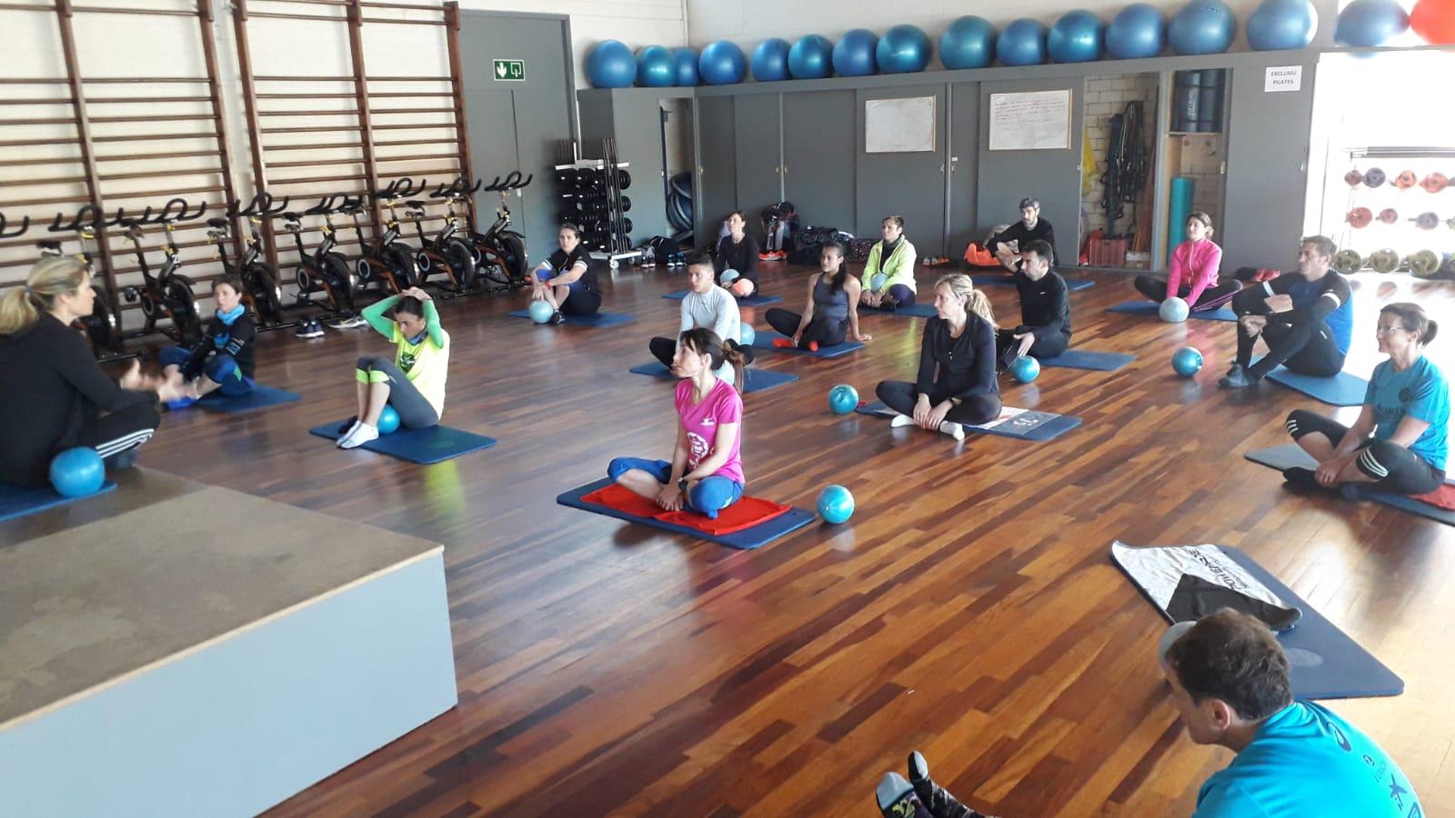 Pilates al Club Natació Banyoles